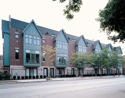 Greenview Place | Townhomes | Main Architecture | Todd Main | Chicago Architect | LEED Architects | AIA | NCARB | Chicago Architects