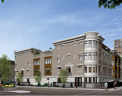 Kensington Park | Townhomes | Main Architecture | Todd Main | Chicago Architect | LEED Architects | AIA | NCARB | Chicago Architects