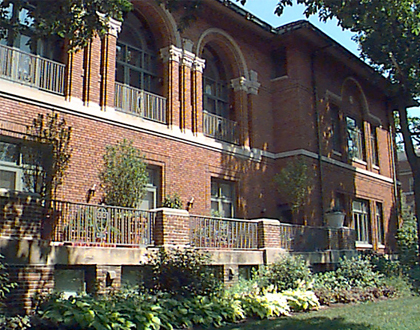 Oak Park Club | Historic | Main Architecture | Todd Main | Chicago Architect | LEED Architects | AIA | NCARB | Chicago Architects