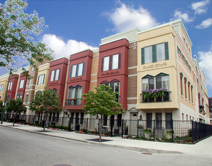 Via Como | Townhomes | Main Architecture | Todd Main | Chicago Architect | LEED Architects | AIA | NCARB | Chicago Architects